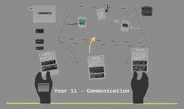 Year 9 - Communication