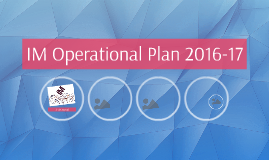 IM Operational Plan 2016-17