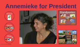Annemieke for President