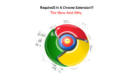 RequireJS In Chrome Extensions