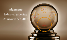 ALV 25 november 2017