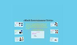 <Black History Month Trivia>