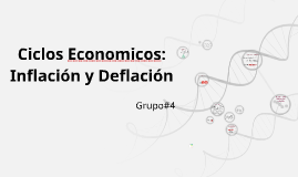Copy of La Inflación y Deflación