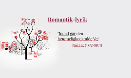 Romantik-lyrik til 2e 2018