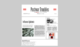 Postwar Troubles