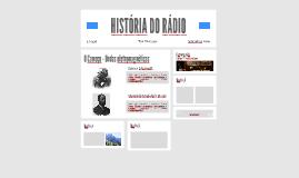 HISTÓRIA DO RÁDIO