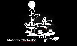 Método Cholesky