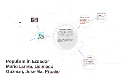 Populism in Ecuador