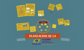 PLANEACION DE LA PRODECOM