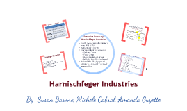 Copy of Harnischfeger Industries Case Study