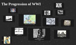 The Progression of WWI