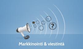 Markkinointi & viestintä