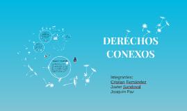 DERECHOS CONEXOS