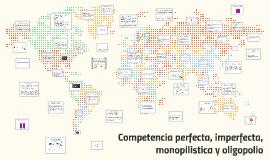 Competencia perfecta, imperfecta, monopilistica y oligopolio