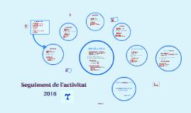 Activitat 2016 Departament Treball Social
