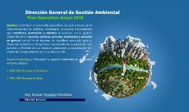 Dirección General de Gestión Ambiental