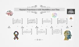 Shayna's Life Experiences with Diversity