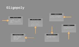 Oligopoly (ol·i·gop·o·ly)