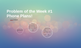 Problem of the Week #1
