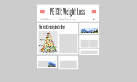 PE 131: Weight Loss