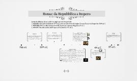 ROMA: da Repubblica a Impero