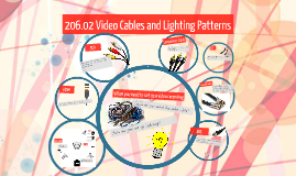 206.02 Video Cables and Lighting Patterns
