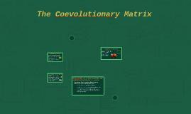 The Coevolutionary Matrix