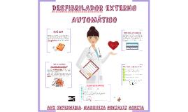 DESFIBRILADOR EXTERNO AUTOMÁTICO