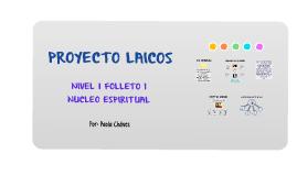 Proyecto Laicos Nivel1 Folleto 1