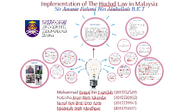 Copy of Implementation of The Hudud Law in Malaysia