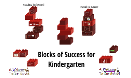 Blocks of Success for Kindergarten