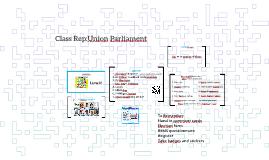 Class Rep:Union Parliament