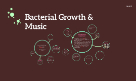 how sound affects bacterial growth