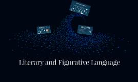 Literary and Figurative Language