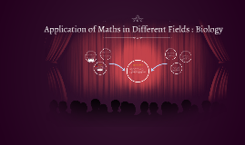 APPLICATION OF MATHS IN DIFFERENT FIEL