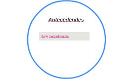 Antecedendes