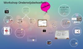 Copy of Workshop onderwijsbehoeften