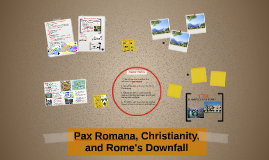 Pax Romana, Christianity, and the Fall