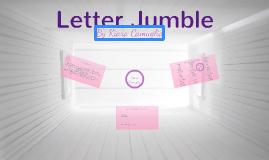 Letter Jumble