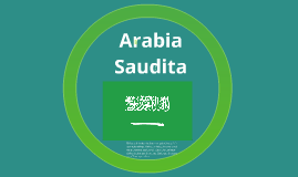 Copy of Arabia Saudita
