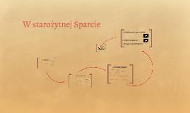 W starożytnej Sparcie