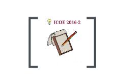ICOE  2016-2- semana 7