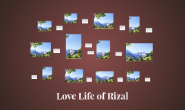 Love Life of Rizal