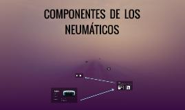COMPONENTES  DE  LOS  NEUMÁTICOS