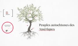 Peuples autochtones des Amériques