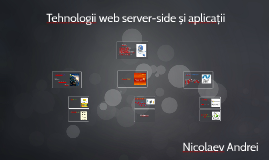 Tehnologii web server-side și aplicații