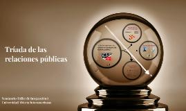 Tríada de las Relaciones Públicas