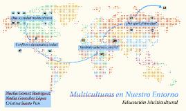 Multiculturas en Nuestro Entorno