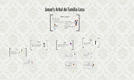 Janan's Arbol de Familia Loco