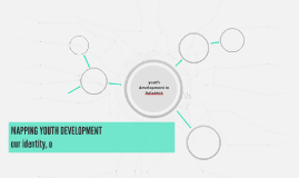 MAPPING YOUTH DEVELOPMENT